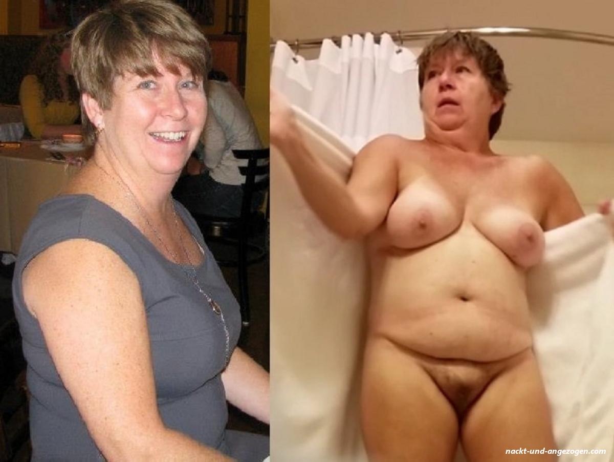 Milfs angezogen und nackt