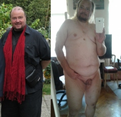 Angezogen nackt mann und Reife angezogen