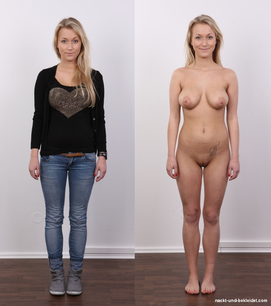 Frau 30 nackt