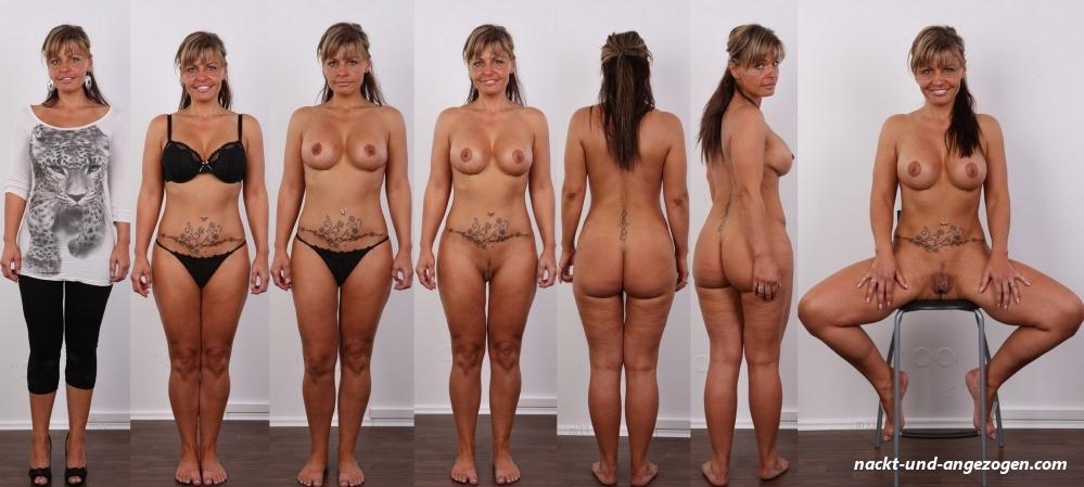 Angezoge und frauen nackt FKK Bilder