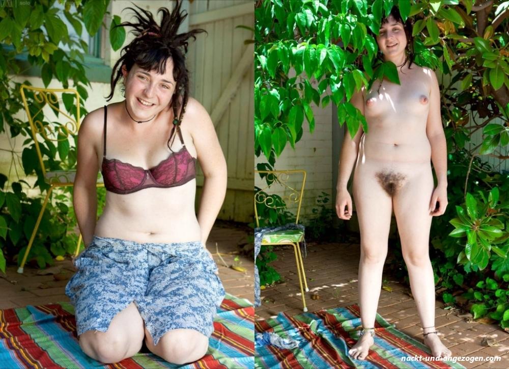 Angezogen nackt amateure und 【ᐅᐅ】 Nackt