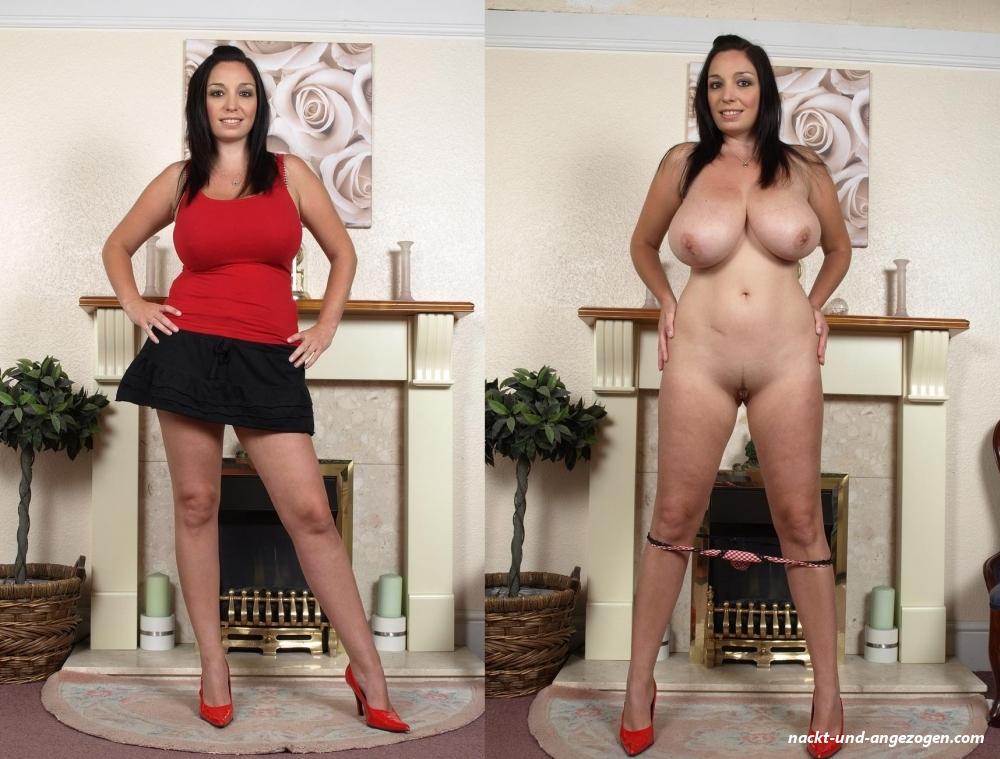Reife Frauen Nackt Und Angezogen