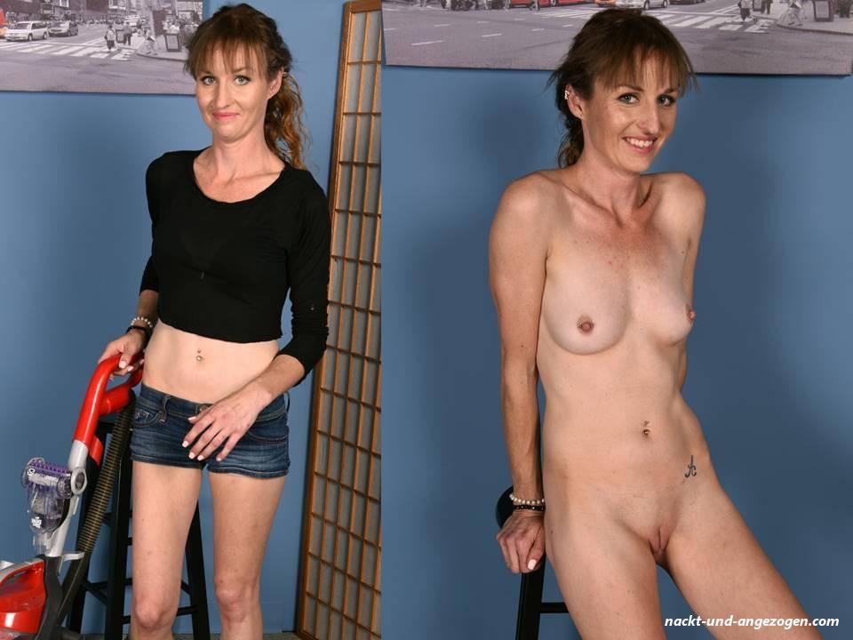 Angezogen und nackt pics