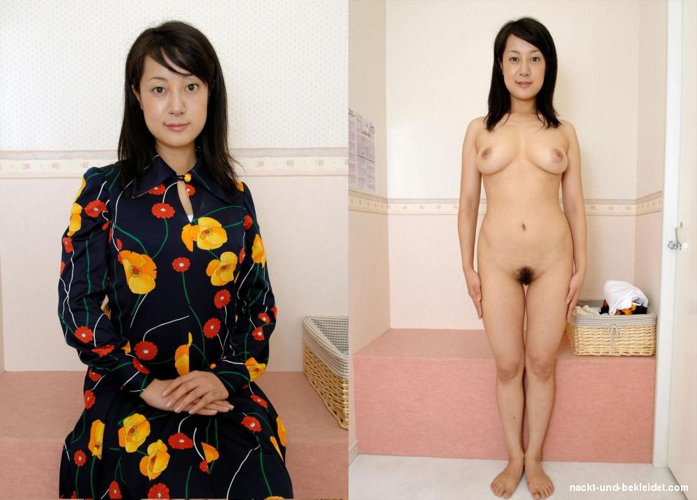 Bekleidet fotos und nackt Nackt Und