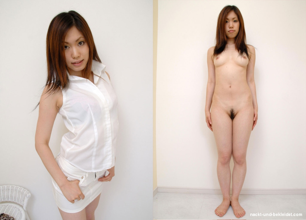 Bekleidet fotos und nackt Bekleidet und