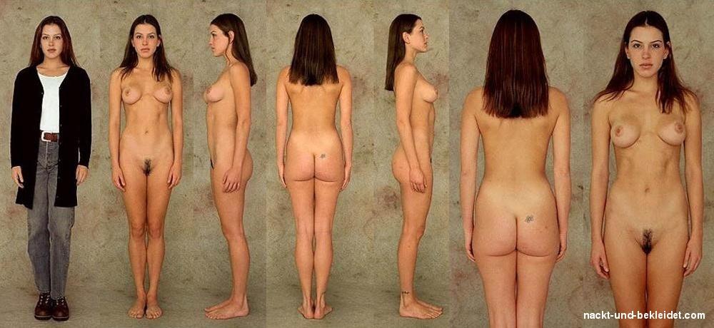 Ausgezogen nackt angezogen Nackt und