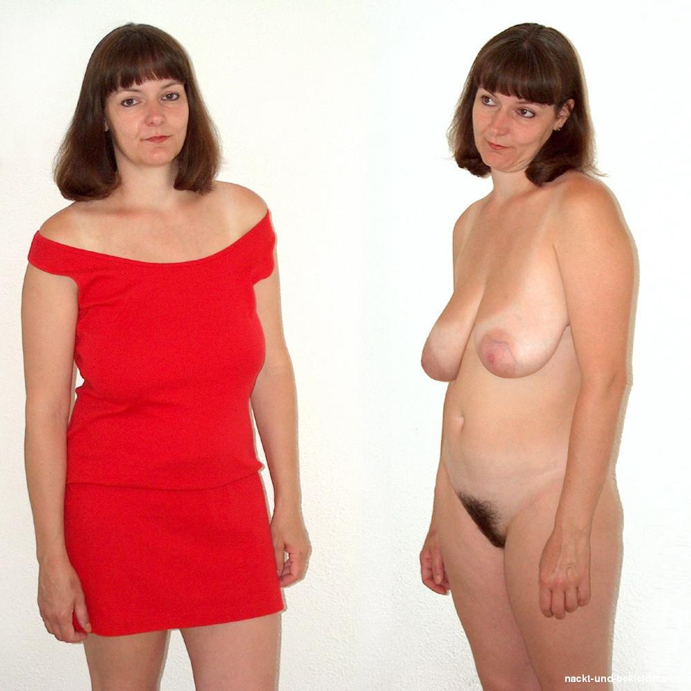 Frauen ab 50 nackt und angezogen