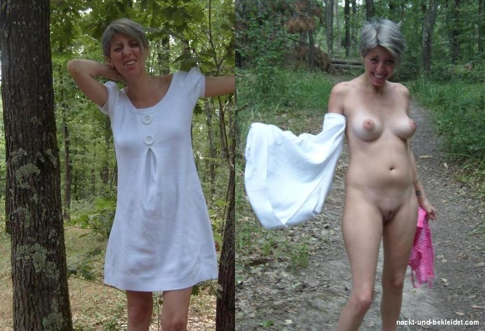Wald im reife nackt frauen Im freien