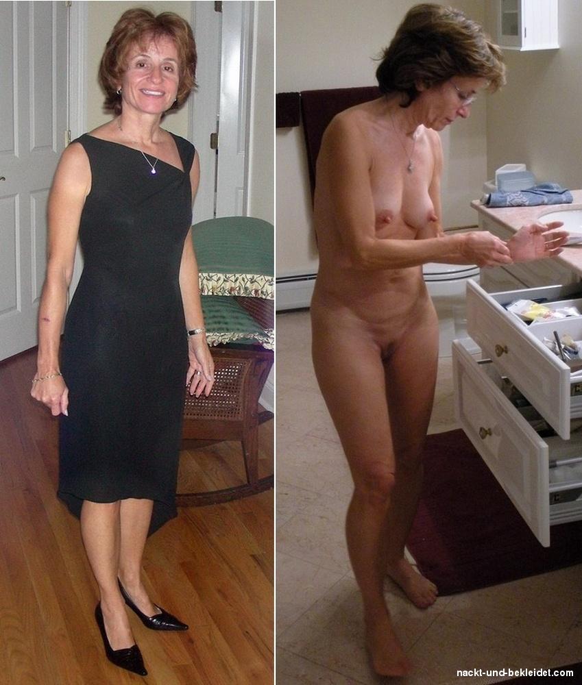 Alte Nackte Hausfrauen