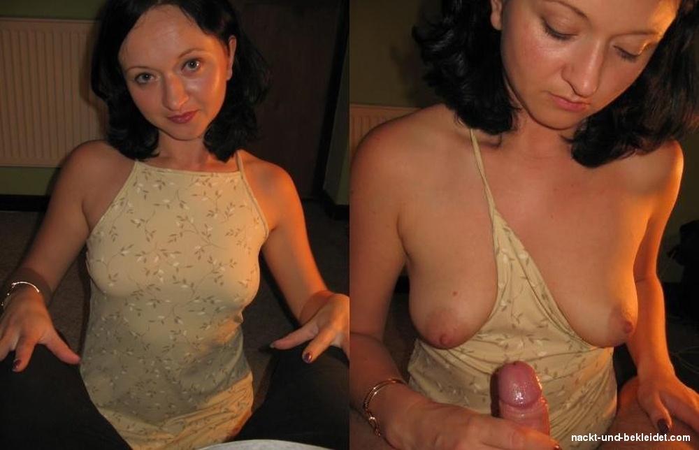Bekleidet und nackt paare Nackte Negerfrauen