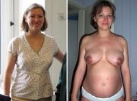 Nackt schwanger girls Dirty Pregnant