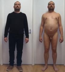 Bekleidet und männer nackt Milfs Bekleidet